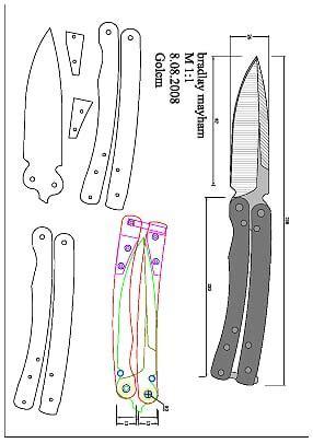 682 Best Wikisharp Images On Pinterest Knife Making Custom Knives And Concrete Slab Chopper Knife Template