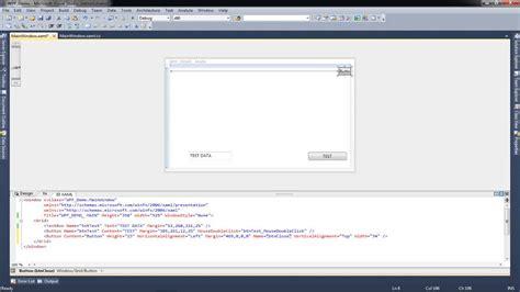 xaml layout tutorial wpf tutorial creating a borderless window design basic