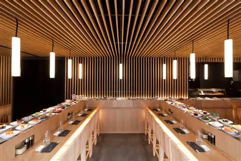 restaurant japonais le comptoir tournant de matsuri fait