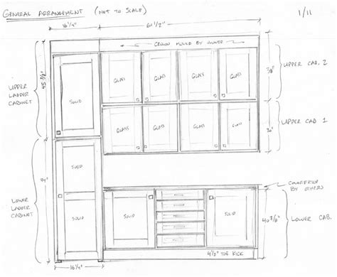 Cabinet Drawing by Cabinet Drawings Don T To Be Perfectly To Scale