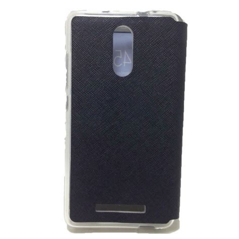 Flip Cover Ume Xiaomi Note 3 jual ume flip leather xiaomi redmi note 3 black