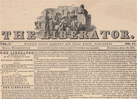 The Liberator by History 120 Tara Bonneville The Pre Civil War
