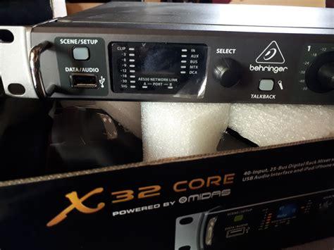 Behringer X32 Rack Weight by Behringer X32 Rack Image 1785035 Audiofanzine