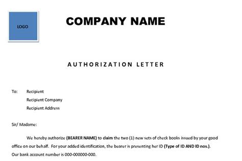 Digital Marketing Briefformat authorization letter general purpose 28 images