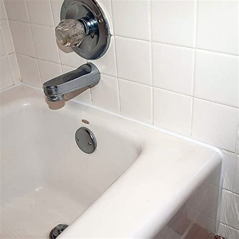 bathtub caulking strips save 7 easycaulk bathtub shower vanity caulk strip
