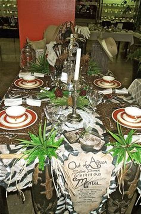 images  african table themes  pinterest