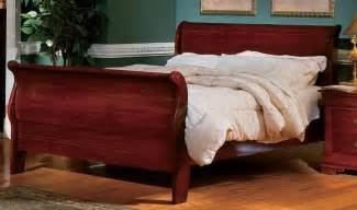 Cherry Wood Sleigh Bed Woodwork Sleigh Bed Cherry Wood Pdf Plans