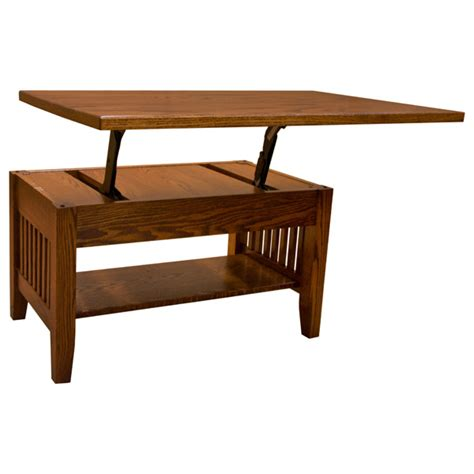 Mission Lift Top Coffee Table 36 Quot Amish Mission Lift Top Coffee Table Lfaw04142pmc0