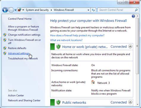 Domain Public Private Windows Firewall
