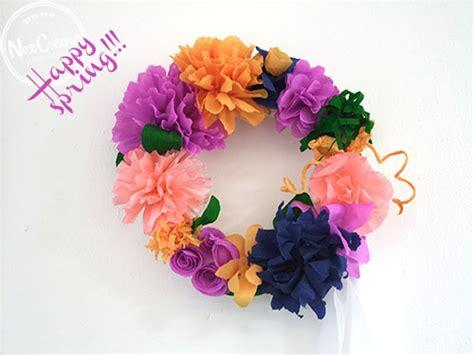 ghirlande fiori diy primavera fai da te la ghirlanda di fiori pinkitalia