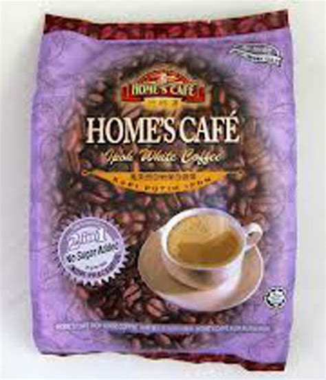 Cafe No 1 2 home s cafe 2 in 1 white coffee no sugar added white