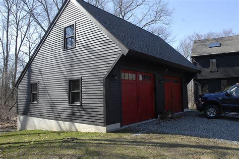 saltbox garage   build diy