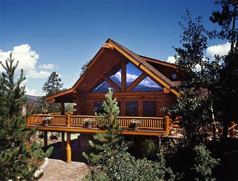 Colorado Log Cabin by Home At Last Sweat Equity Pays Dividends