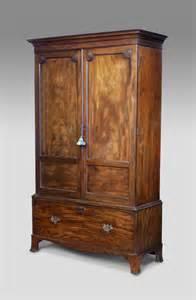 antiker kleiderschrank antique wardrobe mahogany wardrobe georgain wardrobe