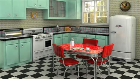 10 Retro styled modern kitchens that prove the past is