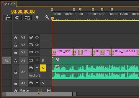 adobe premiere pro record audio пишем звук с микрофона на таймлайн в premiere pro