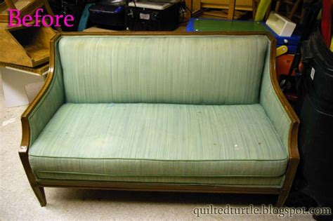 The Quilted Turtle Classroom Couch Redo