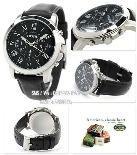 Terbaru Jam Tangan Pria Fossil Sayap Black Angka White jam tangan original fossil fs4812 katalog jam fossil pria
