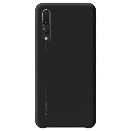 official huawei p20 pro silicone black