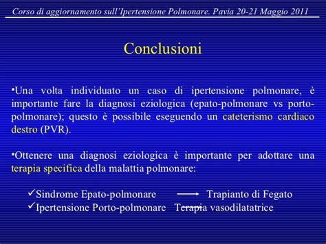 ipertensione porto polmonare ipertensione polmonare nelle epatopatie