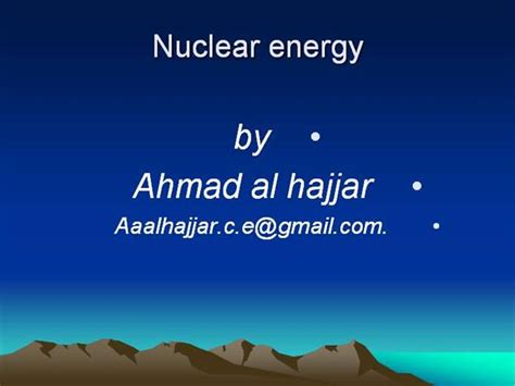 ppt templates for nuclear nuclear energy authorstream