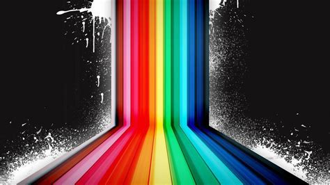 wallpaper 3d rainbow psychedelic hd wallpapers wallpaper cave