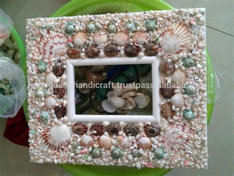 Beautiful Handmade Photo Frames - quadro da foto do vintage seashell photo frame o melhor