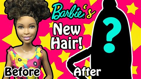 diy haircut before and after barbie doll makeover transformation before and after diy