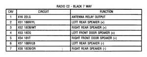 wiring diagram pinout for 07 ram radio dodgeforum