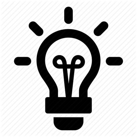 Light Bulb Outline Png by Creative Light Lightbulb Sparks Icon Icon Search Engine