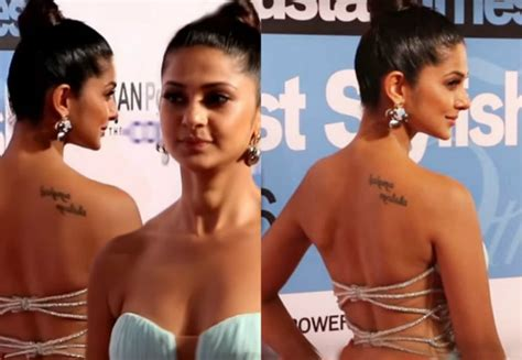 7 tv actresses and their secret tattoos filmygyan
