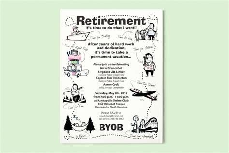 15 Retirement Flyers Psd Vector Eps Jpg Download Freecreatives Free Retirement Invitation Flyer Templates