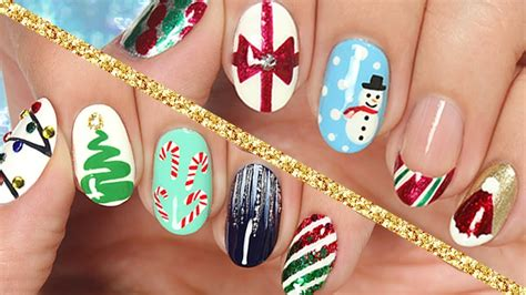 easy nail art cutepolish 10 easy nail art designs for christmas the ultimate guide