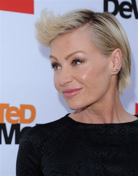 portia de rossi hairstyles short 2013 hairstyle more pics of portia de rossi fauxhawk 8 of 22 short