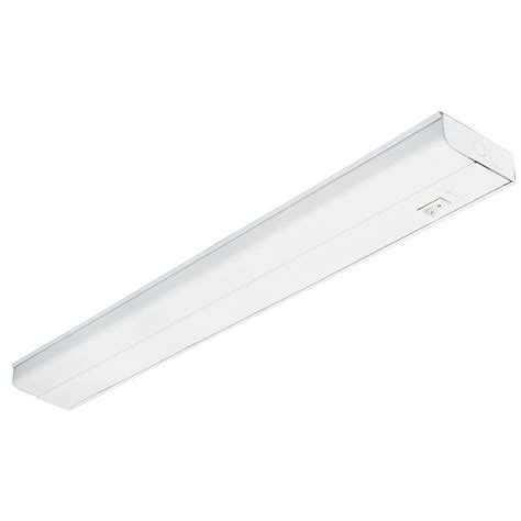 lithonia cabinet lighting lithonia lighting 3 ft t8 fluorescent white cabinet uc8 25 120 swr m6 the home depot