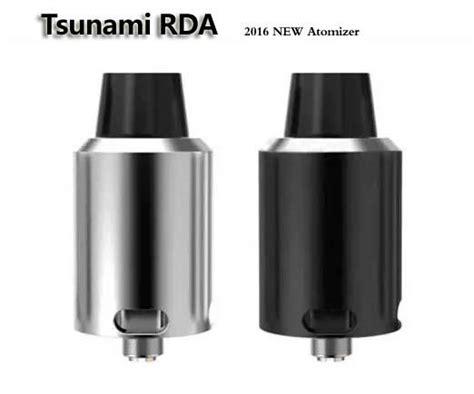 Tsunami 24 Glass Clone Qnnja best newest tsunami 24 rda clone high quality rebuidable atomizer 24mm vaporizer kennedy style