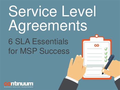 Best Email Lookup Service Service Level Agreements 6 Sla Essentials For Msp Success