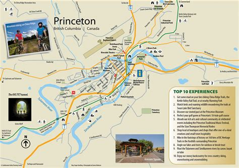 princeton map princeton our communities similkameen valley