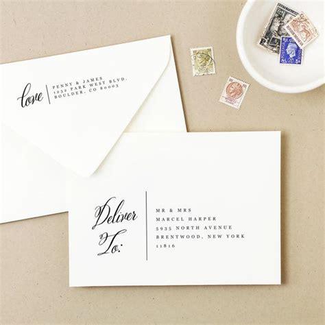 printable envelope address stencil printable wedding envelope template instant download