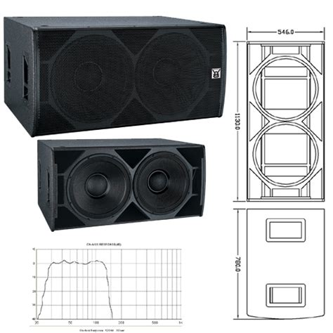 Speaker Fabulous 21 Inch 2015 design 18 inch sub bass china sound system