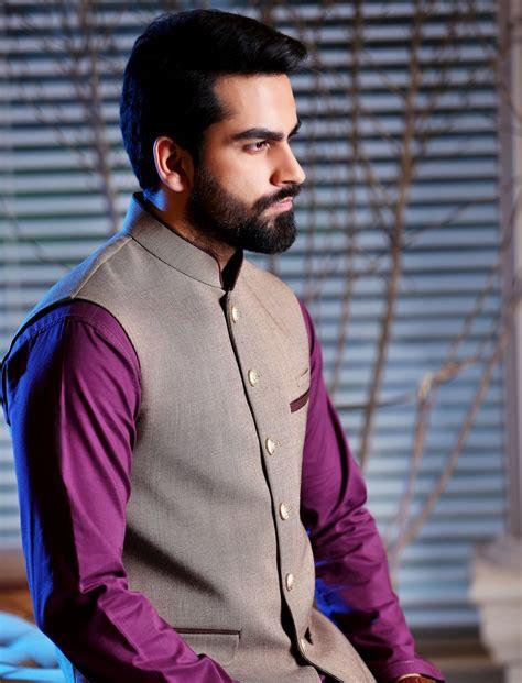 outfittrends latest shalwar kameez with coat style khas latest men fashion eid kurta shalwar kameez