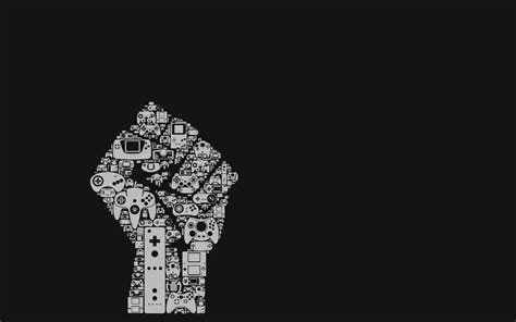 black wallpaper with the power wallpapercraze