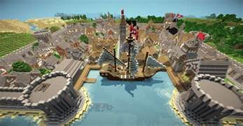 baystone port town minecraft project