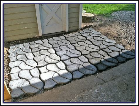 Patio Paver Molds Concrete Walkway Molds Canada Patios Home Decorating Ideas Lo28yxnwbk