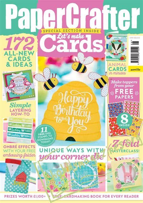 Papercrafter Magazine - papercrafter 108 magazine pdf