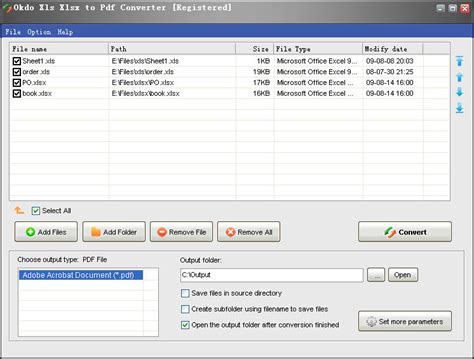 converter xlsx to pdf download free okdo xls xlsx to pdf converter by okdo