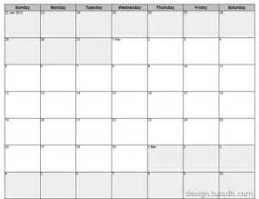 6 week calendar template weekly calendar template images