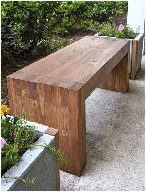 bench project 10 cool diy outdoor bench projects you will love