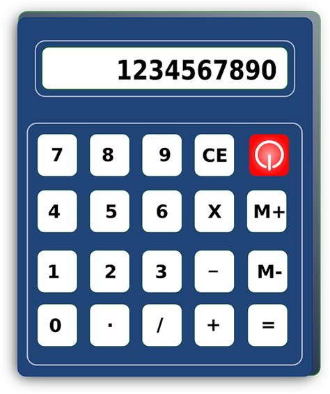 calculator numbers calculator tool calculation office machine numbers
