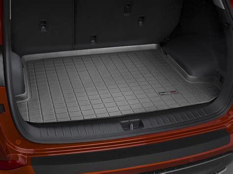 cargo mat for minivan 2017 hyundai tucson cargo mat and trunk liner for cars